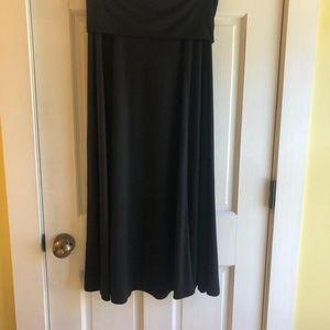Gap Women's Maxi Skirt, Foldover top